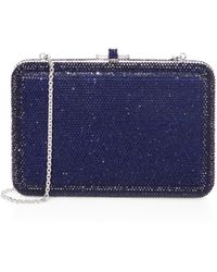Judith Leiber Couture - Fullbead Crystal Clutch - Lyst