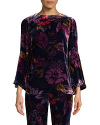 Trina Turk - Astral Floral Top - Lyst