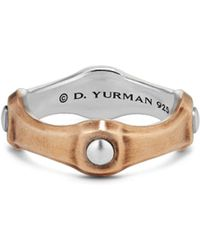 David Yurman - Anvil Band Ring - Lyst