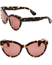 Oliver Peoples - Roella 55mm Cat-eye Sunglasses - Lyst