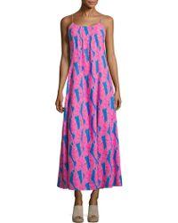 Vineyard Vines - Palm Printed Dress - Lyst