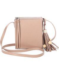 Elizabeth and James - Sara Tassel Leather Crossbody Bag - Lyst