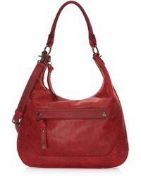 Frye - Melissa Zip Leather Hobo Bag - Lyst