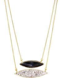 Shana Gulati - Holiday Black Onyx Necklace - Lyst