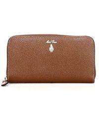 Mark Cross   Grace Continental Leather Wallet   Lyst