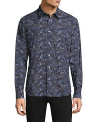 Paul Smith - All Over 1974 Print Button-down Shirt - Lyst