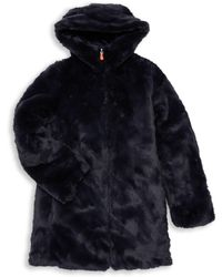 Save The Duck - Little Girl's & Girl's Reversible Faux Fur Coat - Lyst