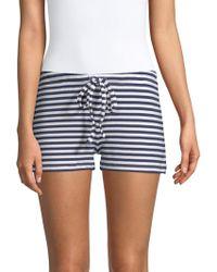 Saks Fifth Avenue - Hattie Striped Shorts - Lyst