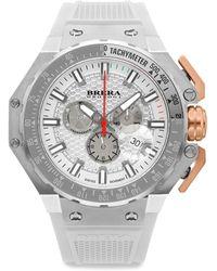 Brera Orologi - Gran Turismo Swiss Quartz Strap Watch - Lyst