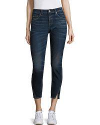 AMO | Twist Skinny Ankle Jeans | Lyst