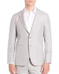 Saks Fifth Avenue   Silk Sportcoat   Lyst