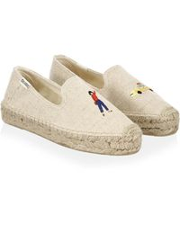 Soludos - Taxi Canvas Smoking Slippers - Lyst