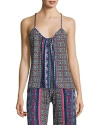 In Bloom - Scalloped Camisole - Lyst