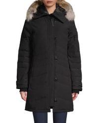 Canada Goose - Lorette Fur Hood Parka - Lyst