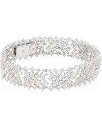 Adriana Orsini - Leia Swarovski Crystal Flex Bracelet - Lyst
