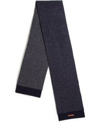 Bickley + Mitchell - Lambswool Mixed Pattern Scarf - Lyst