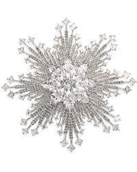 Adriana Orsini - Great Swarovski Crystal Burst Pin - Lyst