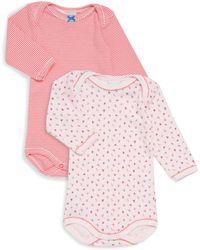 Petit Bateau - Baby's Two-piece Long Sleeve Bodysuits Set - Lyst
