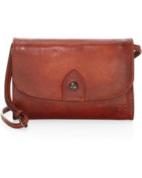 Frye - Melissa Crossbody Leather Wallet - Lyst