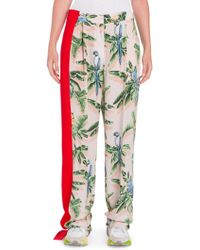 Stella McCartney | Silk Birds Of Paradise Pants | Lyst