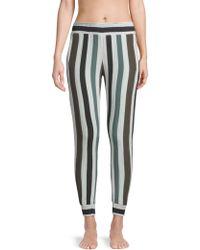 Mikoh Swimwear - Kahuku Striped Harem Trousers - Lyst
