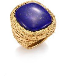 Aurelie Bidermann - Miki Lapis Lazuli Ring - Lyst