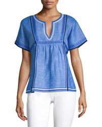 Vineyard Vines - Embroidered Top - Lyst