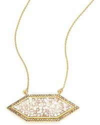 Shana Gulati | Charushila Shashi Black Diamond Pendant Necklace | Lyst