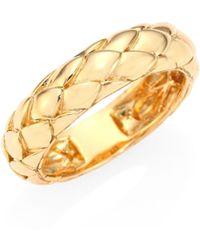 John Hardy - Legends Cobra 18k Yellow Gold Ring - Lyst