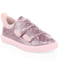 Native Shoes Girl's Monaco Grip-tape Glitter Trainers