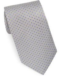 Eton of Sweden - Grey Dot Tie - Lyst