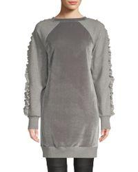 Elie Tahari - Destine Velvet Knit Casual Dress - Lyst