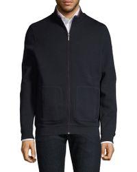 Bugatti - Full-zip Knit Sweatshirt - Lyst