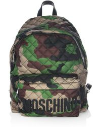 Moschino - Camouflage Backpack - Lyst