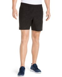 Lacoste - Elasticized Athletic Shorts - Lyst
