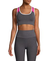 Phat Buddha - Columbus Circle Colorblock Sports Bra - Lyst