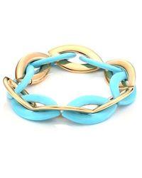 Vhernier - Doppio Senso 18k Rose Gold & Turquoise Bracelet - Lyst