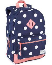 Herschel Supply Co. - Heritage Polka-dot Backpack - Lyst