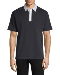 Theory - Rugby Polo Shirt - Lyst