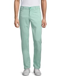 Kiton - Buttoned Slim-fit Jeans - Lyst