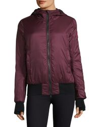 Canada Goose - Dore Hooded Down Bomber Jacket - Lyst