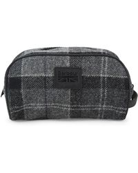 Barbour - Wool Tartan Kit Bag - Lyst