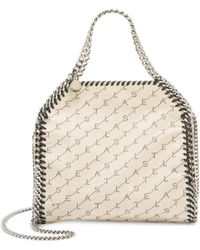 Stella McCartney - Mini Falabella Monogrammed Shoulder Bag - Lyst