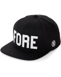 648739735f7 G FORE - Perforated Cotton Baseball Cap - Lyst