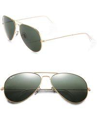 Ray-Ban - Original 62mm Aviator Sunglasses - Lyst