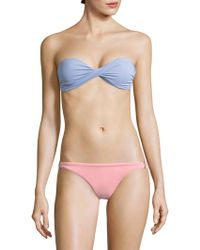 Melissa Odabash - Martinique Bandeau Bikini Top - Lyst