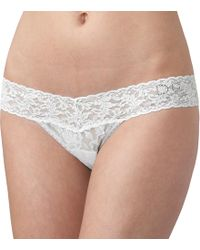 "Hanky Panky - Bridal ""i Do"" Low Rise Thong - Lyst"