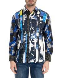 Robert Graham - Printed Cotton Button-down Shirt - Lyst