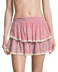 Cool Change - Nelly Tiered Skirt - Lyst