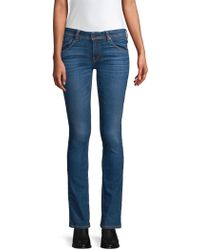 Hudson Jeans - Beth Mid-rise Baby Bootcut Jeans - Lyst